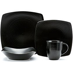 Red Vanilla Black Rice 16-piece Dinnerware Set