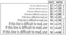 Red Rhinestone Computer Reading Glasses - Thumbnail 2