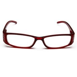Red Rhinestone Computer Reading Glasses - Thumbnail 1