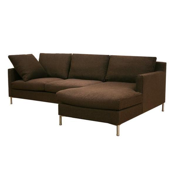 Palmyra Twill Fabric Steel Sectional Sofa