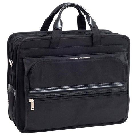 McKlein Elston Nylon Double-compartment Laptop Briefcase