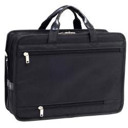 McKlein Elston Nylon Double-compartment Laptop Briefcase - Thumbnail 2