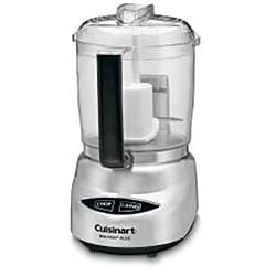 Cuisinart DLC-4CHB Mini-prep Plus Brushed Stainless Steel 4-cup Food Processor - Thumbnail 1