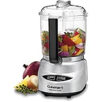 Cuisinart Brushed Stainless Steel Mini-prep Plus 4-cup Food Processor