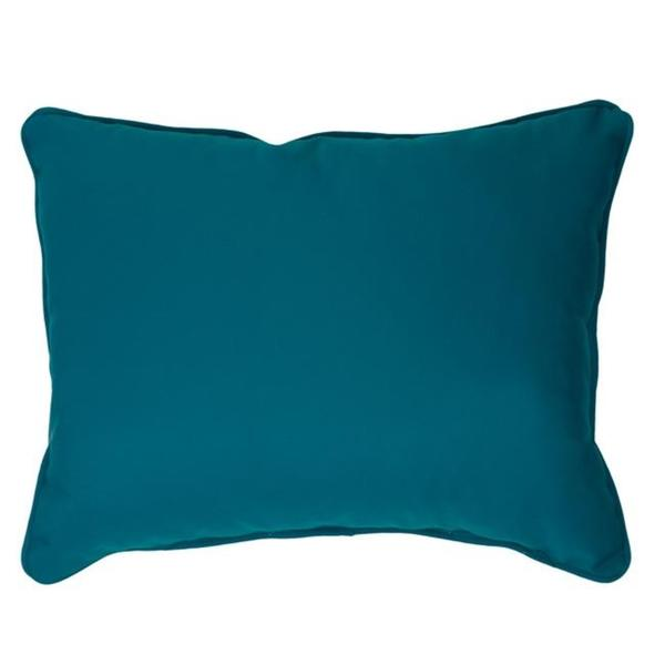 Canvas Teal Corded Indoor/ Outdoor Pillows in Sunbrella Fabric (Set of 2)