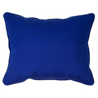Canvas Blue Corded Indoor/ Outdoor Pillows (Set of 2)
