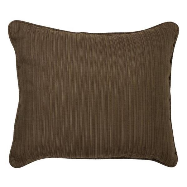 Textured Walnut Corded Indoor/ Outdoor Pillows (Set of 2)