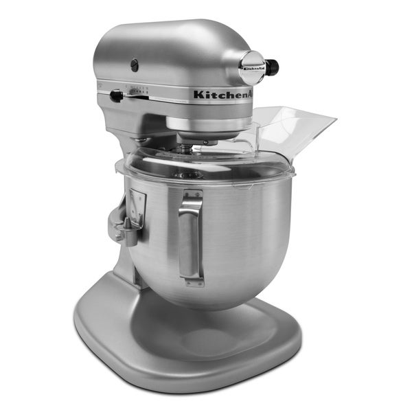 KitchenAid KSM455PSSM Silver Metallic Pro 450 Series Stand Mixer