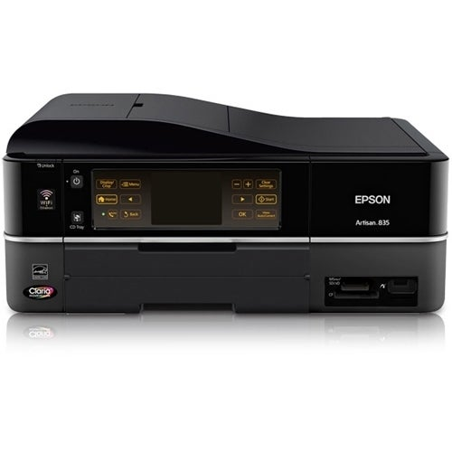 Epson 8 Color Inkjet Print Epson Premium Semigloss Photo: Shop Epson Artisan 835 Inkjet Multifunction Printer