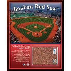 Steiner Sports Fenway Park Dirt Plaque