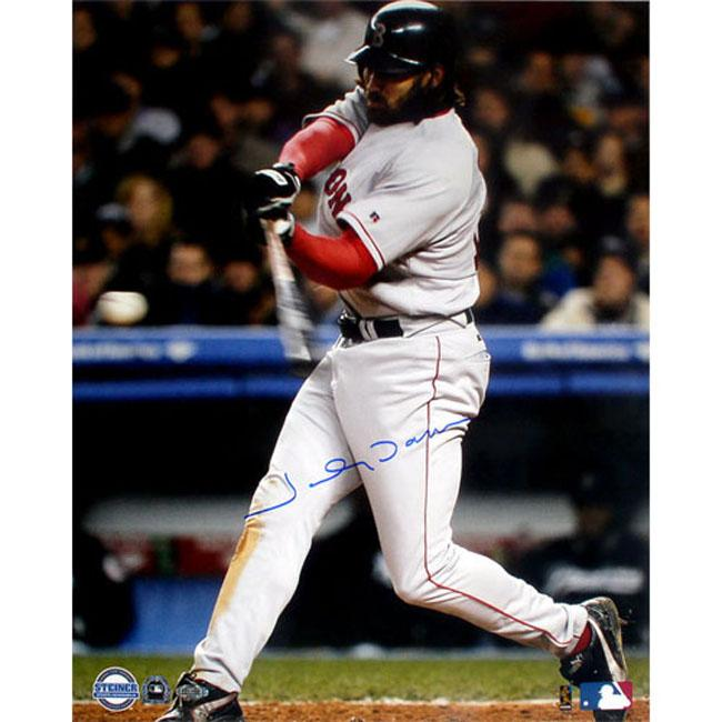 Steiner Sports Autographed Johnny Damon ALCS Game 7 2nd HR Photograph