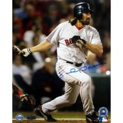 Steiner Sports Autographed Johnny Damon 2004 WS Game 4 HR Photograph