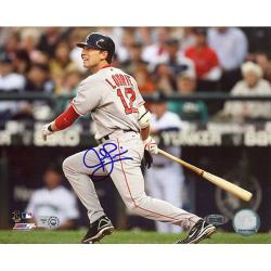 Steiner Sports Autographed Jed Lowrie 2008 Road Batting Photograph - Thumbnail 0