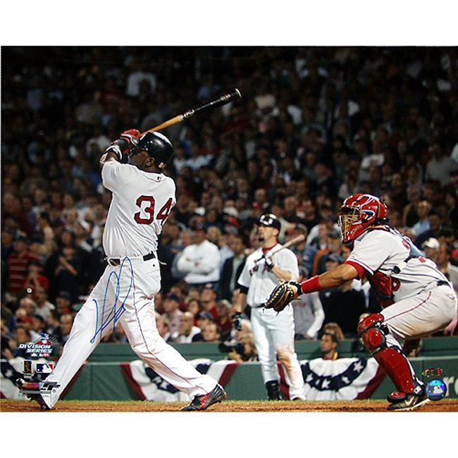 Steiner Sports Autographed David Ortiz 2004 ALDS Walk Off Home Run Photograph