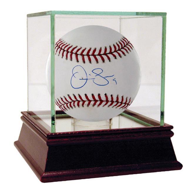 Steiner Sports Autographed Omir Santos MLB Baseball