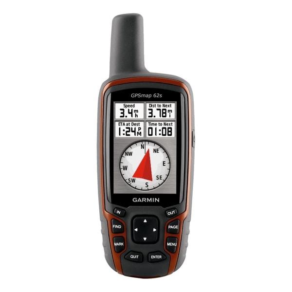 Garmin GPSMAP 62s Handheld GPS Navigator - Portable