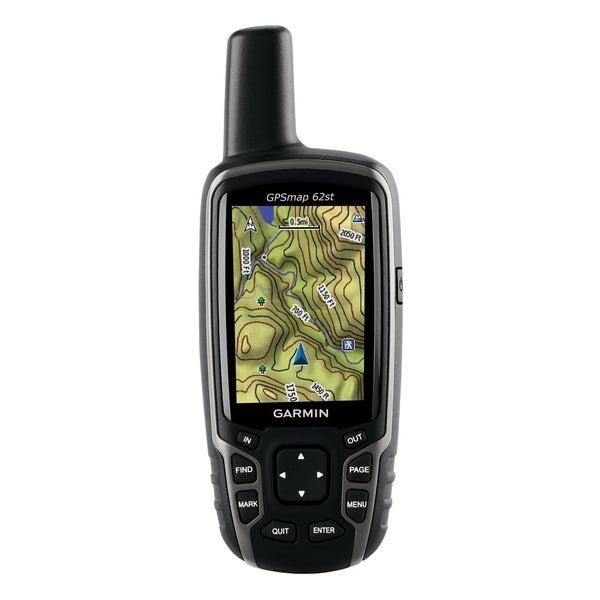 Garmin GPSMAP 62st Handheld GPS Navigator - Portable