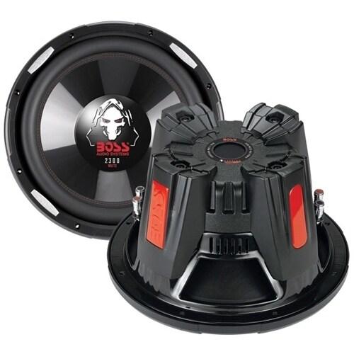 BOSS AUDIO P126DVC Phantom12 inch Dual Voice Coil (4 Ohm) 2300-watt S