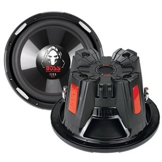 BOSS AUDIO P156DVC Phantom15 inch Dual Voice Coil (4 Ohm) 2500-watt S
