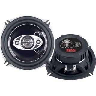 "BOSS AUDIO P55.4C Phantom 5.25"" 4-way 300-watt Full Range Speakers|https://ak1.ostkcdn.com/images/products/5191356/P13025348.jpg?impolicy=medium"