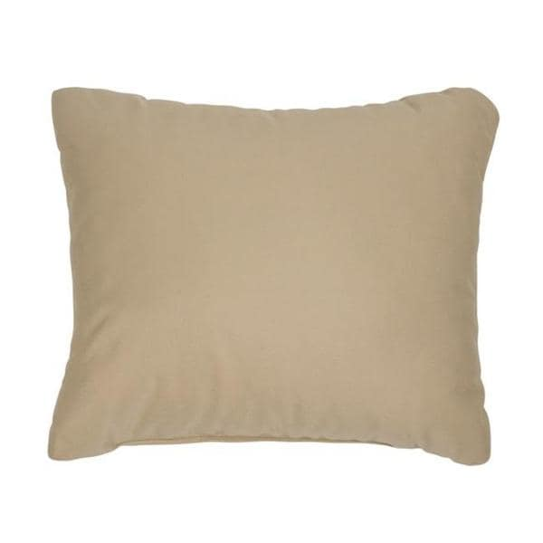 canvas antique beige knifeedge outdoor pillows with sunbrella fabric set of 2 - Sunbrella Pillows