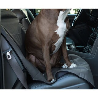 Majestic Pet Products Waterproof Grey Bucket Seat Cover