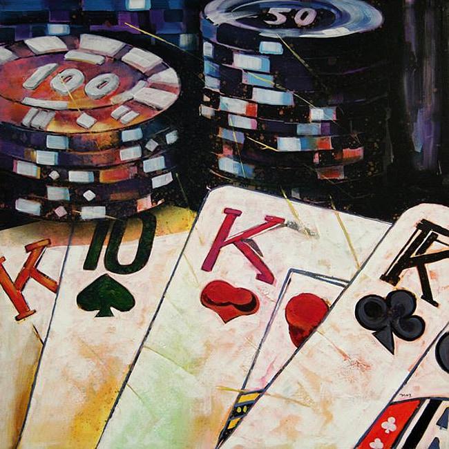 five-o poker facebook canvas weber