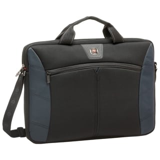 Swissgear Sherpa 17.3in Slimcase Computer Sleeve, Blue & Black