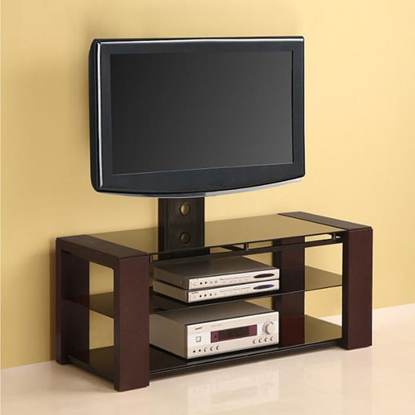 Solid Wood 48 Inch 4 In 1 Tv Stand With Removable Mount