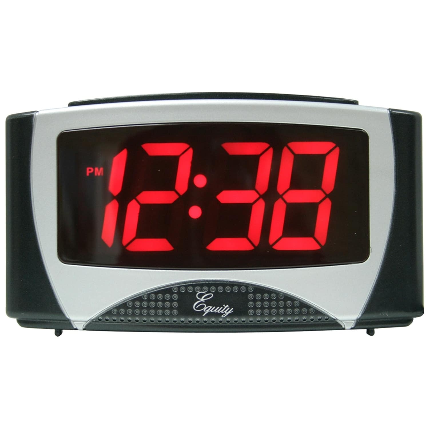 Equity by La Crosse 30029 Large LED Alarm Clock with 1.2 ...