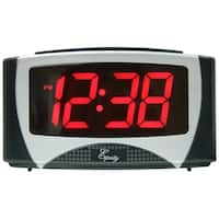 Equity by La Crosse 30029 Large LED Alarm Clock with 1.2 inch time digits