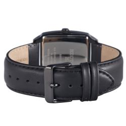 Hector H France Men's 'Fashion' Square Date Watch - Thumbnail 2