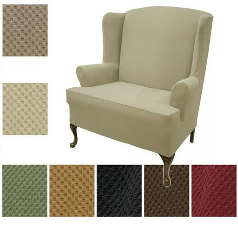 Wing Loveseat Stretch Slipcover