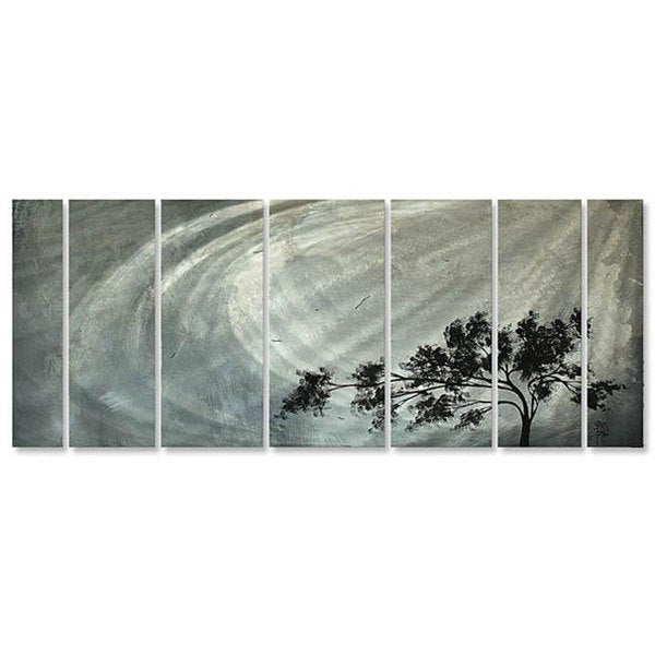 Megan Duncanson 'Solitude' Metal Wall Art