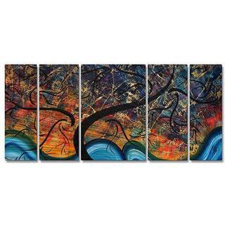Megan Duncanson 'Brilliant Branches' Metal Wall Art