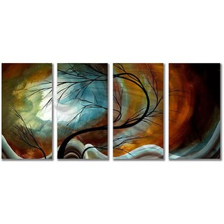 Megan Duncanson 'Midnight Wind' Metal Wall Art (As Is Item)