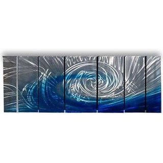 Blue Metal Wall Art metal art store - shop the best deals for sep 2017 - overstock