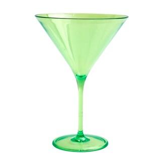 Impulse! Capri Green Martini Glasses (Pack of 12)