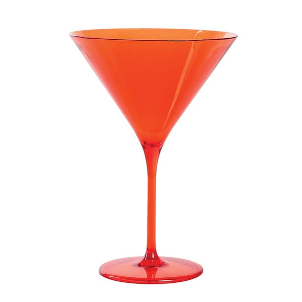 Impulse! Capri Orange Martini Glass (Pack 12)