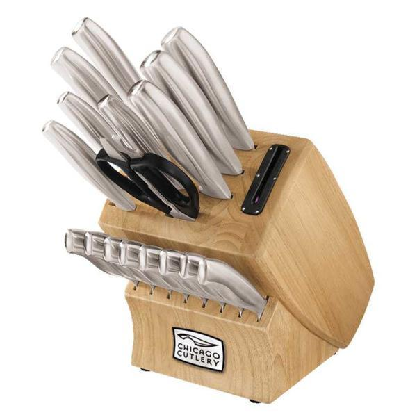 Chicago Cutlery Insignia Steel 18-piece Knife Block Set