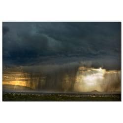 Keith Berr 'Summer Storm' Gallery-wrapped Canvas Art - Thumbnail 1