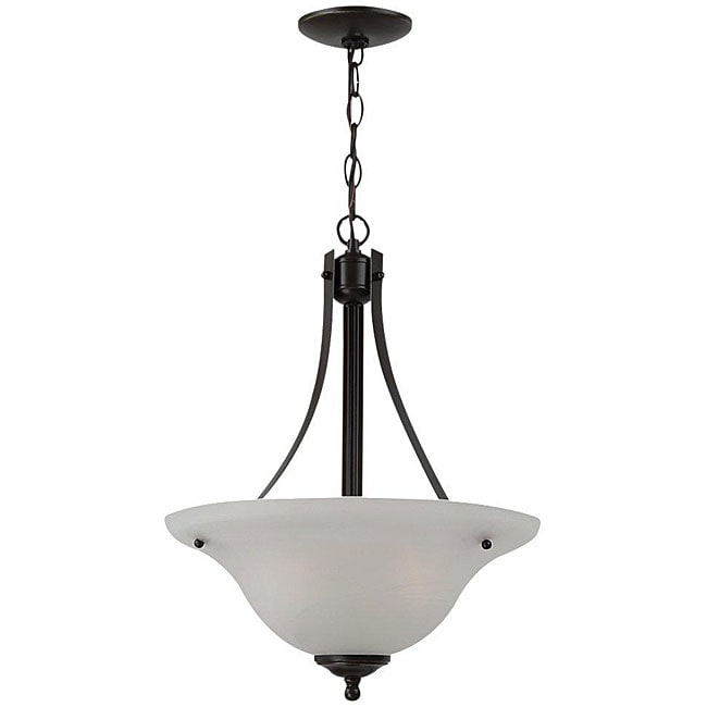 Windgate 2 Light Bronze Pendant Fixture