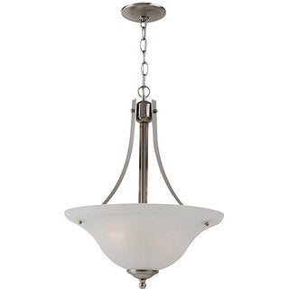 Windgate 2-light Nickel Pendant Light Fixture