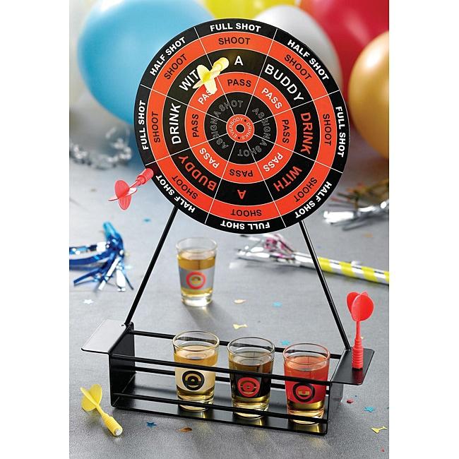 Game Night Shot Glass Darts