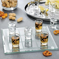 Game Night Shot Glass Tic Tac Toe