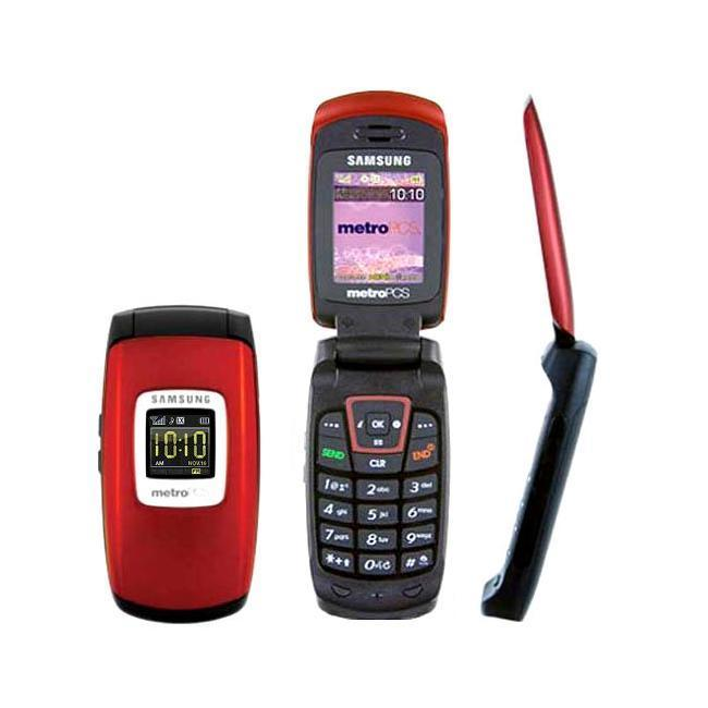 Samsung SCH R300 Metro PCS Red Cell Phone (Refurbished)