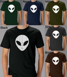 Los Angeles Pop Art Men's Alien T-Shirt