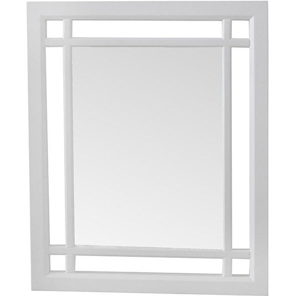 Stripe Wood Wall Mirror