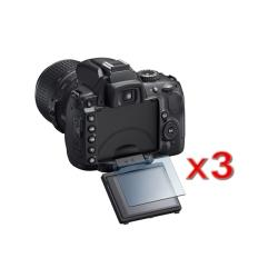 INSTEN Nikon D5000 Screen Protector (Pack of 3)