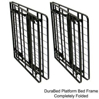 DuraBed Queen-size Heavy-duty Steel Foundation and Frame-in-One Mattress Support System